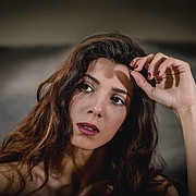 Giulia Ramires modella attore. Photoshoot of model Giulia Ramires demonstrating Face Modeling.Face Modeling Photo #195810