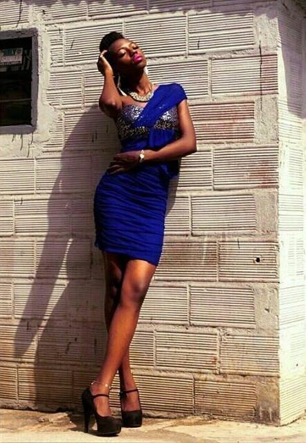 Grace Owoseni model. Grace Owoseni demonstrating Fashion Modeling, in a photoshoot by Ayo Akinwande.photographer: Ayo AkinwandeFashion Modeling Photo #177203