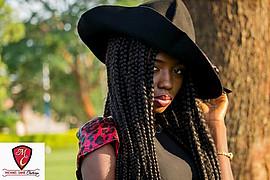Grace Owoseni model. Photoshoot of model Grace Owoseni demonstrating Face Modeling.Face Modeling Photo #189602