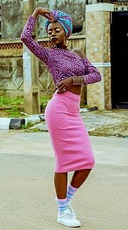 Grace Owoseni model. Photoshoot of model Grace Owoseni demonstrating Fashion Modeling.Fashion Modeling Photo #189607