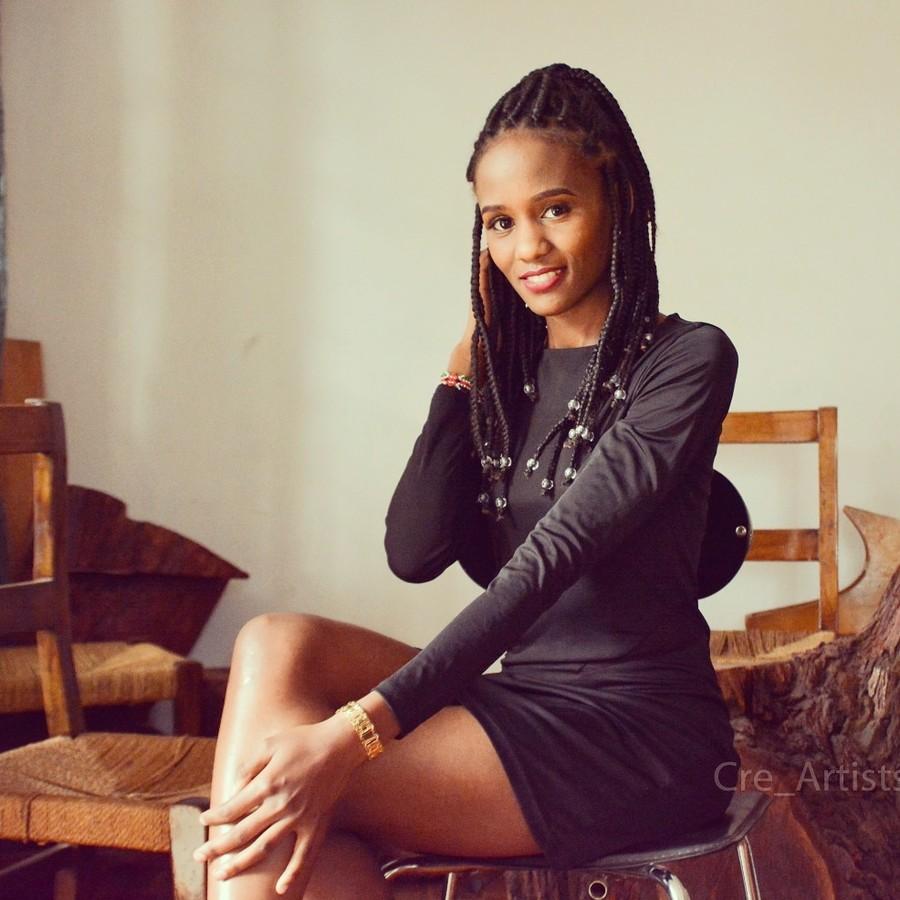 Grace Wanjiru Commercial Fashion Model