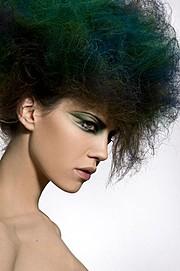 Guilaine Frichot makeup artist (maquilleur). Work by makeup artist Guilaine Frichot demonstrating Creative Makeup.Creative Makeup Photo #48527