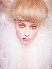 Gunnhildur Birna makeup artist (sminka). Work by makeup artist Gunnhildur Birna demonstrating Beauty Makeup.Beauty Makeup Photo #89442