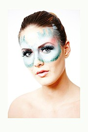 Gunnhildur Birna makeup artist (sminka). Work by makeup artist Gunnhildur Birna demonstrating Bridal Makeup in a photoshoot by Larus Sigurdarson.Photographer: Larus SigurdarsonBridal Makeup Photo #89476
