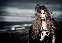 Gunnhildur Birna makeup artist (sminka). Modeling work by model Steinunn María Agnarsdóttir.Photo: Annie BertramModel Agency: Eskimo Models ReykjavikMakeup/Hair: Gunnhildur Birna Photo #89469