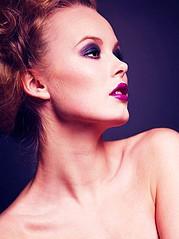 Gunnhildur Birna makeup artist (sminka). Work by makeup artist Gunnhildur Birna demonstrating Beauty Makeup.Beauty Makeup Photo #89472