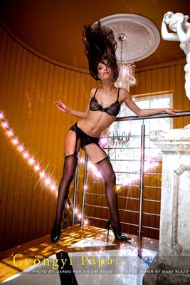 Gyongyi Papai model. Photoshoot of model Gyongyi Papai demonstrating Body Modeling.Body Modeling Photo #75460