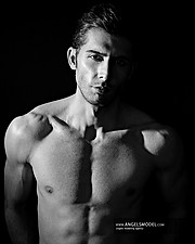 Hamed Lotfi model. Photoshoot of model Hamed Lotfi demonstrating Body Modeling.Body Modeling Photo #203051