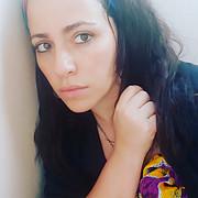 Hania Mansour model. Photoshoot of model Hania Mansour demonstrating Face Modeling.Face Modeling Photo #223704