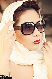 Hanna Joy model. Photoshoot of model Hanna Joy demonstrating Face Modeling.Face Modeling Photo #127477