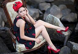 Hanna Joy model. Photoshoot of model Hanna Joy demonstrating Fashion Modeling.Fashion Modeling Photo #127474