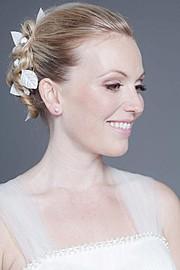 Hanna Laura Olafsdottir makeup artist & hair stylist (sminka & hársnyrtir). Work by makeup artist Hanna Laura Olafsdottir demonstrating Bridal Makeup.Bridal Makeup Photo #166468