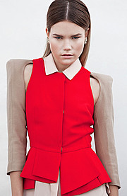 Hanna Toivakka model. Hanna Toivakka demonstrating Fashion Modeling, in a photoshoot with Fashion Makeup done by Karolina Shumilas.makeup: Karolina ShumilasFashion Modeling,Fashion Makeup Photo #97038