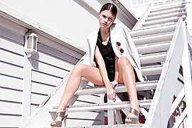 Hanna Toivakka model. Photoshoot of model Hanna Toivakka demonstrating Fashion Modeling.Fashion Modeling Photo #97039