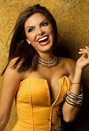 Hannelly Quintero model. Photoshoot of model Hannelly Quintero demonstrating Face Modeling.Face Modeling Photo #82090
