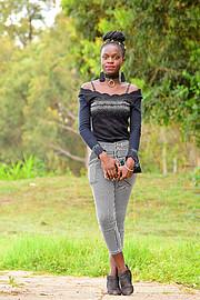 Hariet Adongo model. Photoshoot of model Hariet Adongo demonstrating Fashion Modeling.Fashion Modeling Photo #224584