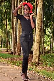 Hariet Adongo model. Photoshoot of model Hariet Adongo demonstrating Fashion Modeling.Fashion Modeling Photo #224595