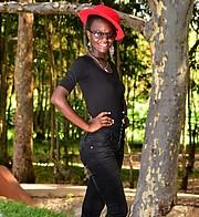 Hariet Adongo model. Photoshoot of model Hariet Adongo demonstrating Fashion Modeling.Fashion Modeling Photo #224720