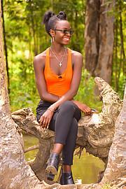 Hariet Adongo model. Photoshoot of model Hariet Adongo demonstrating Fashion Modeling.Fashion Modeling Photo #224734
