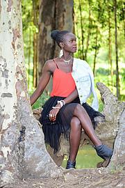 Hariet Adongo model. Photoshoot of model Hariet Adongo demonstrating Fashion Modeling.Fashion Modeling Photo #225744