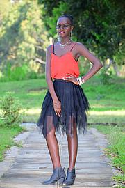 Hariet Adongo model. Photoshoot of model Hariet Adongo demonstrating Fashion Modeling.Fashion Modeling Photo #225749