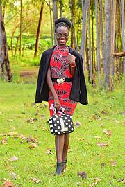 Hariet Adongo model. Photoshoot of model Hariet Adongo demonstrating Fashion Modeling.Fashion Modeling Photo #227799