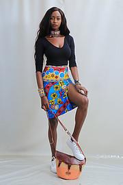 Hellen Mwanzia model. Photoshoot of model Hellen Mwanzia demonstrating Fashion Modeling.Fashion Modeling Photo #214572