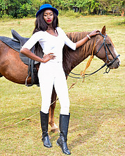 Hellen Mwanzia model. Photoshoot of model Hellen Mwanzia demonstrating Fashion Modeling.Fashion Modeling Photo #214618
