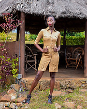 Hellen Mwanzia model. Photoshoot of model Hellen Mwanzia demonstrating Fashion Modeling.Fashion Modeling Photo #214623