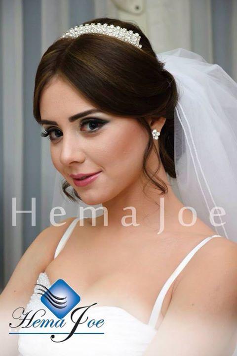 Hema Joe hair stylist. Work by hair stylist Hema Joe demonstrating Bridal Hair Styling.Bridal Hair Styling Photo #73083