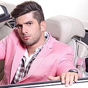 Hooman Hosseini model. Photoshoot of model Hooman Hosseini demonstrating Face Modeling.Face Modeling Photo #111062