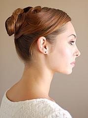 Hope Beel model. Photoshoot of model Hope Beel demonstrating Face Modeling.Face Modeling Photo #117885
