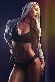 Hope Beel model. Photoshoot of model Hope Beel demonstrating Body Modeling.Body Modeling Photo #117906