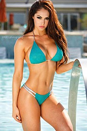 Hope Beel model. Photoshoot of model Hope Beel demonstrating Body Modeling.Body Modeling Photo #117903