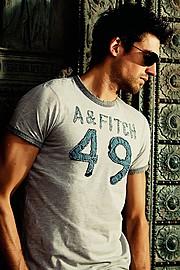 Hugo Salmon model (modèle). Photoshoot of model Hugo Salmon demonstrating Fashion Modeling.Fashion Modeling Photo #73187