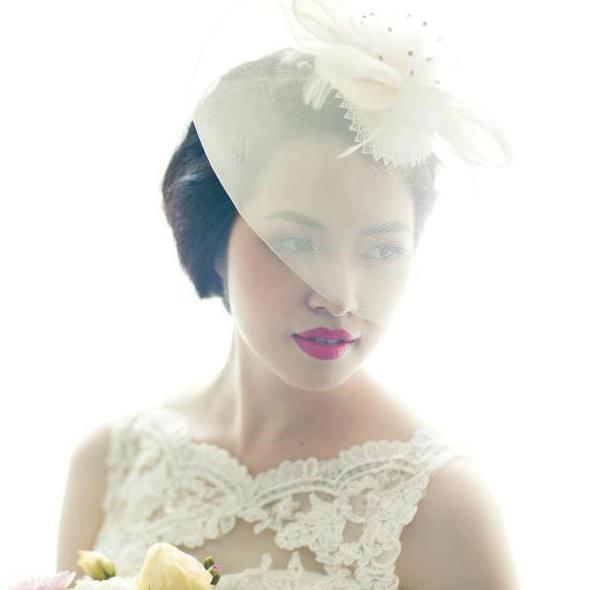 Hurry Nguyen makeup artist. Work by makeup artist Hurry Nguyen demonstrating Bridal Makeup.Bridal Makeup Photo #103029