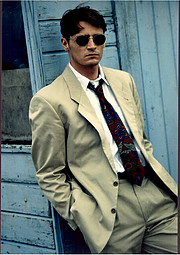 Ian Roberts model. Photoshoot of model Ian Roberts demonstrating Fashion Modeling.Simon PowellFashion Modeling Photo #229029