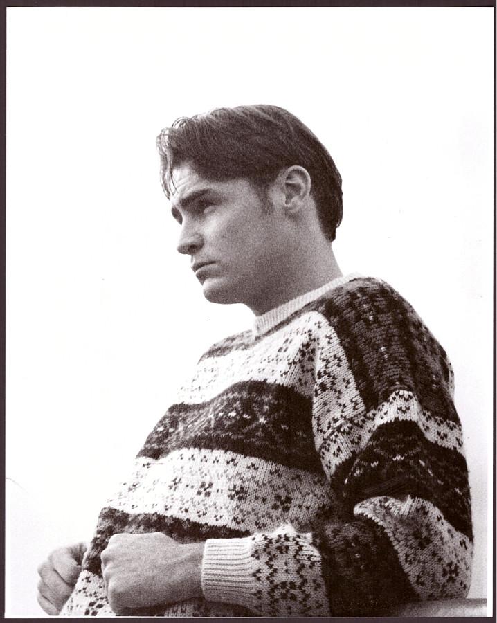 Ian Roberts model. Photoshoot of model Ian Roberts demonstrating Face Modeling.Photograph by Simon PowellFace Modeling Photo #230494
