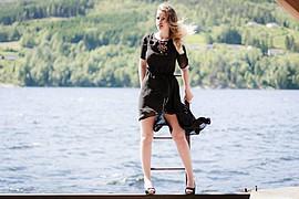 Ida Nykaas model (modell). Photoshoot of model Ida Nykaas demonstrating Fashion Modeling.Fashion Modeling Photo #85161