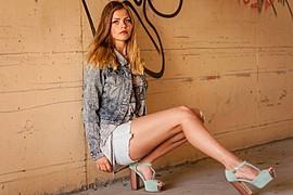 Ida Nykaas model (modell). Photoshoot of model Ida Nykaas demonstrating Fashion Modeling.Fashion Modeling Photo #85165