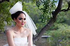 Idalia Martinez makeup artist. Work by makeup artist Idalia Martinez demonstrating Bridal Makeup.Bridal Makeup Photo #81923