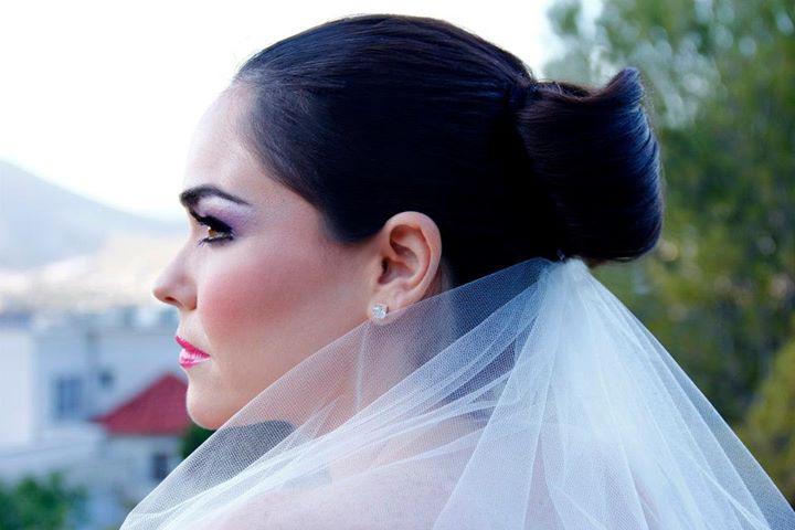 Idalia Martinez makeup artist. Work by makeup artist Idalia Martinez demonstrating Bridal Makeup.Bridal Makeup Photo #81924