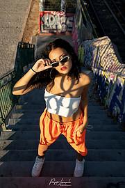 "Panagiotis Lymperopoulos (Παναγιώτης Λυμπερόπουλος) fashion photographer, Ilia Thekla Touri model (μοντέλο). Work by photographer Panagiotis Lymperopoulos demonstrating Fashion Photography in a photo-session with the model Ilia Thekla Touri.""In Str"