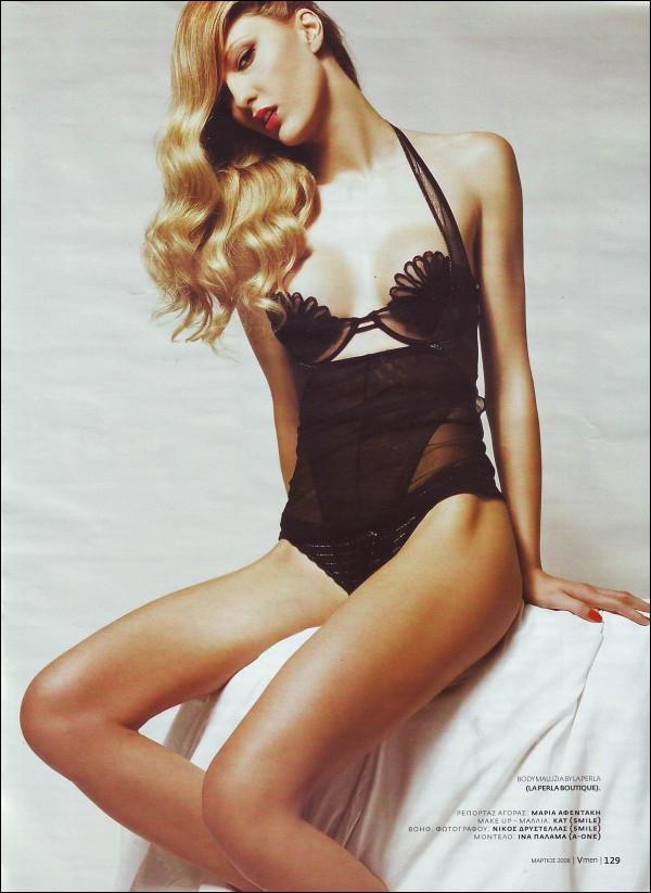 Ina Palama model (Ίνα Παλαμά μοντέλο). Photoshoot of model Ina Palama demonstrating Body Modeling.Body Modeling Photo #95670