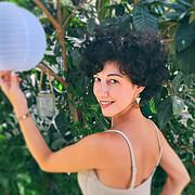 Ioanna Kaskoura model (μοντέλο). Photoshoot of model Ioanna Kaskoura demonstrating Face Modeling.Face Modeling Photo #213739