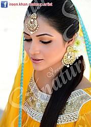 Ireen Khan makeup artist. makeup by makeup artist Ireen Khan. Photo #45017