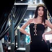 Irene Sterianou model (Ειρήνη Στεριανού μοντέλο). Photoshoot of model Irene Sterianou demonstrating Face Modeling.Face Modeling Photo #212406