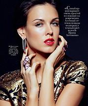 Irina Antonenko (Ирина Антоненко) model & actress. Photoshoot of model Irina Antonenko demonstrating Face Modeling.Face Modeling Photo #81764
