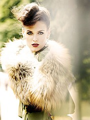Irina Antonenko (Ирина Антоненко) model & actress. Photoshoot of model Irina Antonenko demonstrating Face Modeling.Face Modeling Photo #81768