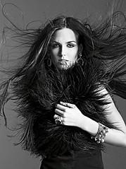 Irina Antonenko (Ирина Антоненко) model & actress. Photoshoot of model Irina Antonenko demonstrating Runway Modeling.Runway Modeling Photo #81783